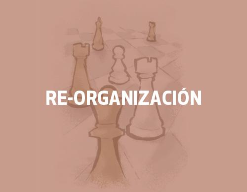 reorganización